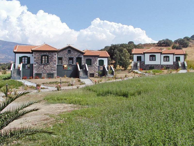 Appartementen Moon Garden - Molyvos - Lesbos